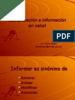 Comunicación e Información en Salud