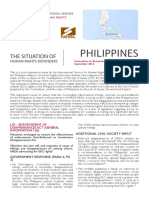 Philippines | Defenders of economic, social and cultural rights need to be protected