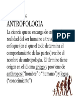 Definicion de Antropologia