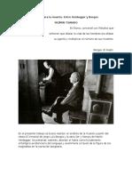 El Ser Para La Muerte. Entre Heidegger y Borges