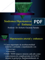 Sindromes Hipertensivos durante el Embarazo.ppt