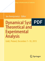 Dynamical systems:theoritical and experimental analysis1