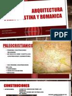 Arquitectura Paleocristina y Romanica
