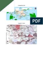 A Geografia de Toril - Faerûn