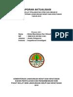 laporan aktualisasi prajabatan Golongan III