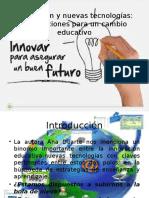 Innovación y Nuevas Tecnologías