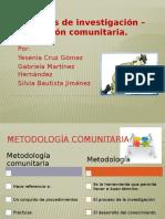 Métodos de Investigación – Acción Comunitaria