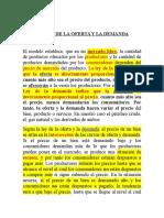 00 Ley de La Oferta y La Demanda Completa