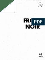 Front Noir n 4-5 Mai 64