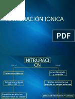 Nitruracion ionica