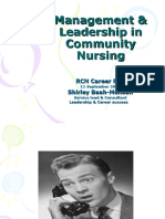 RCN Bulletin Jobs Fair 2013 Management and Leadership in Community Nursing