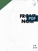Front Noir n 7-8 Fev. 65