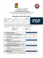 New Persnl Satisfaction Survey Form-2016