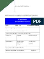 Pmp Scope Assignment-Anirudh Ranganatha