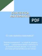 Statistica matematică.grupa 1