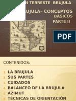 Orientacion - Brujula II