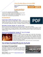 CoolTan Arts E-Bulletin June 2010