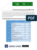 How to Prepare General Awareness for SSC CGL