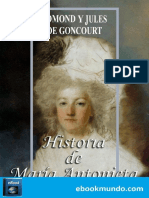Historia de Maria Antonieta - Edmond y Jules de Goncourt.epub