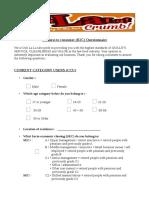 B2C Questionnaire (CCU)