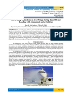 Lift & Drag Reductions on Iced Wings during Take Off and Landing with Unmanned Aerial Vehicles