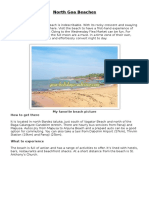 North Goa Vacation tour