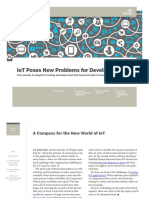 IoT Poses New Problems for Developers