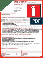 Affiche Consignes Incendie LEGIEST 3be0548e111d