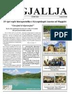 """Gazeta """"Ngjallja"""" Gusht 2016"""