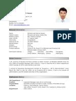 RESUME of Md. Nazmul Hasan.doc