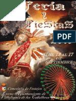 Programa Completo Feria Fiestas 2016