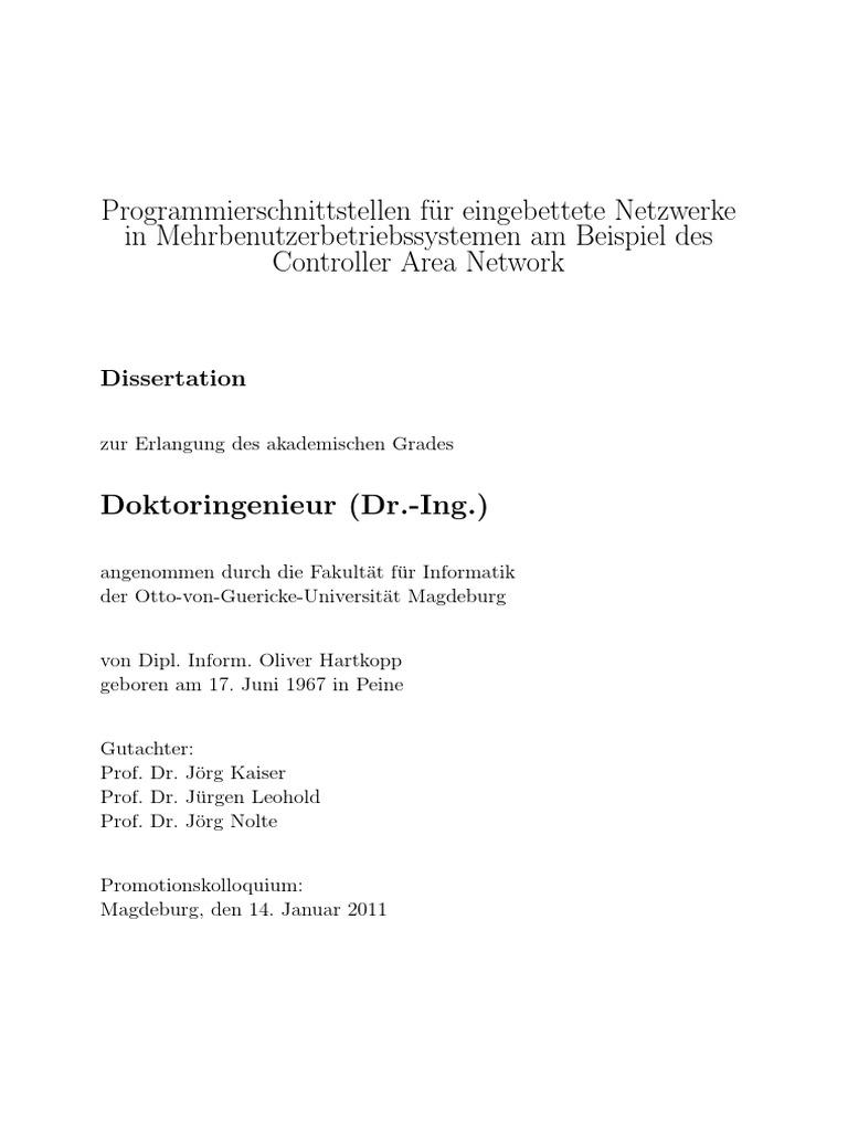 Dissertation Hartkopp Onlineversion CAN