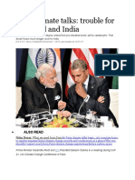 Paris Climate Talks Trouble for the World and India-1 (1)