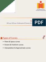 ME3040 & ME5090_20160808- Cubic Curves