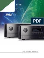 Avm Mrx English Manual 113015 Online