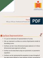 ME3040 & ME5090_20160917- Parametric Surfaces