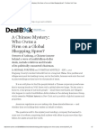 A Chinese Mystery_ Who Owns a Firm on a Global Shopping Spree_ - The New York Times