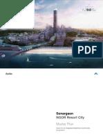 Sonargaon Noor Resort City - Master-plan - Final - Aedas