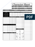 WFRP 1st Edition Character Sheet