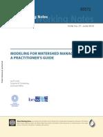 Watershed Modeling