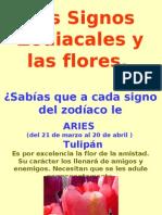 Los Signos Zodiacales y Las Flores