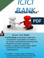 Presentation on Icici Bank