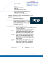 Material Safety Data Sheet (MSDS) Product Information Breath Scan Pre-Employment, Employee and Employment Drug Testing and Screening Kits BS02, BS05, BS08