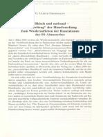 Grossmann Ulrich G_Puschner Uwe_Völkisch Und National_Hausforschung Zum Wiederaufleben Der Runenkunde Des Ahnenerbes_2009