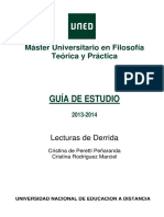 Lecturas de Derrida. Guía 2. 2013.2014