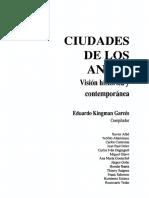 Ciudades de Los Andes Homogenializacion y Diversidad