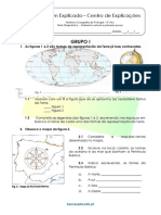 A.1 Teste Diagnóstico Ambiente Natural e Primeiros Povos 1