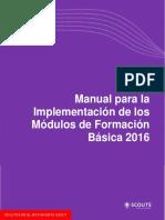 Manual Para La Implementacion de Los Modulos de FB 2016