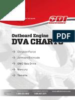 Mercury Mariner CDI Electronics DVA Charts