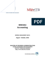 Syllabus GM3 MM5002 Accounting